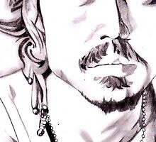 Johnny depp by sachith bandara senanayake