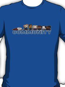 Community 8-bit World T-Shirt