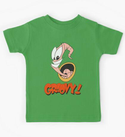 Earthworm Jim v2 Kids Tee