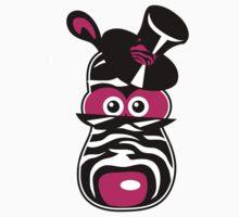 Pink Zebra by Robert Ball