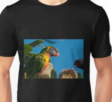 Lorikeet conversation, Clovelly, Sydney Unisex T-Shirt
