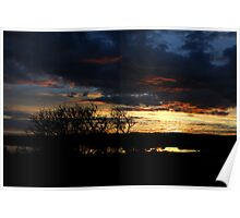 Coorong Sunrise Poster