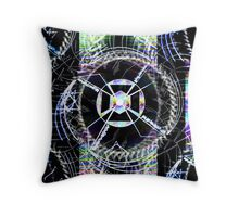 Time Works Throw Pillow