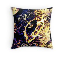 Eyes On Peace Throw Pillow