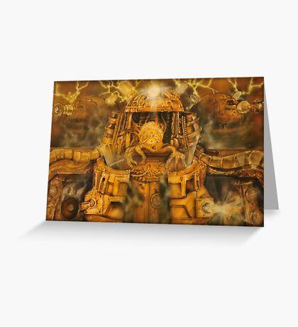 Giger Dalek Greeting Card