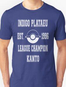 Indigo Plateau League Champion: Pokemon Kanto  Unisex T-Shirt