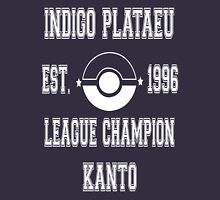 Indigo Plateau League Champion: Pokemon Kanto  Mens V-Neck T-Shirt