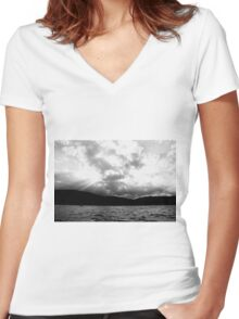 Rays Women's Fitted V-Neck T-Shirt