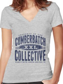 Property of Cumberbatch! Women's Fitted V-Neck T-Shirt