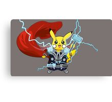 By The Power of Thorchu! Canvas Print