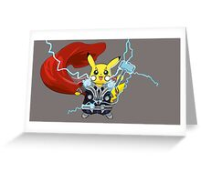 By The Power of Thorchu! Greeting Card