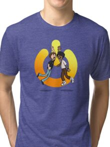 The power of friendship Tri-blend T-Shirt