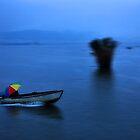 Rainbow umbrella by Hercules Milas