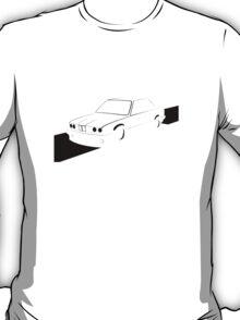 E30 Retro - Black Print T-Shirt