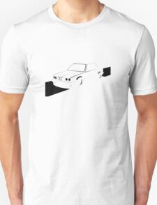 E30 Retro - Black Print T-Shirt