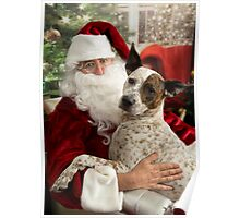 Santa & Katie Poster