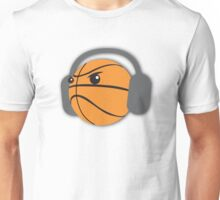 CRAZY headphones BASKETBALL Unisex T-Shirt