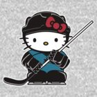 Hello Kitty Loves The San Jose Sharks! by endlessimages
