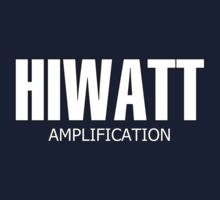 Hiwatt amp  White decoration Clothing & Stickers by goodmusic