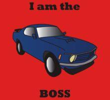I am the BOSS Mustang Kids Tee