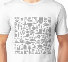 Garden a background Unisex T-Shirt