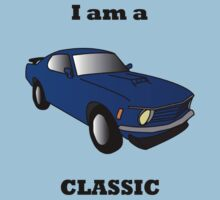 I am a CLASSIC (Mustang) One Piece - Short Sleeve