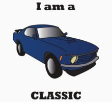 I am a CLASSIC (Mustang) Kids Clothes