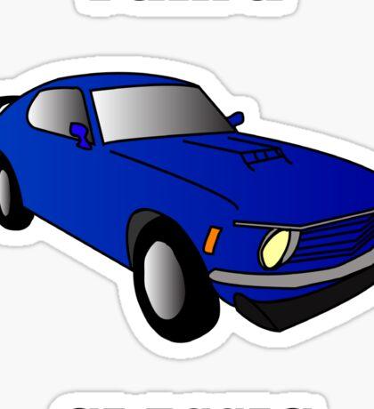 I am a CLASSIC (Mustang) Sticker