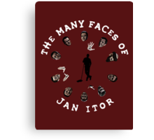 The many faces of Jan Itor Canvas Print