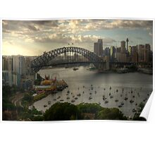Sydney Harbour Morning - The HDR Experience Poster