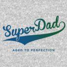 Super Dad - Blue/green by buud