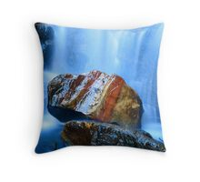 Australia Rocks Throw Pillow
