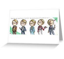 Hannibal - Lecter's wardrobe Greeting Card
