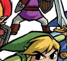 4 Swords Sticker