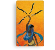 Sword Dancer Canvas Print