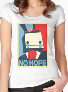 No Hope Women's Fitted Scoop T-Shirt