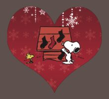 Snoopy Red Holiday Kids Clothes