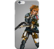 Armoured Gun Girl iPhone Case/Skin