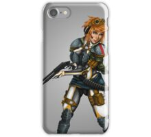 Armoured Gun Girl iPhone Case/Skin