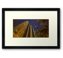 Up At River Place Framed Print