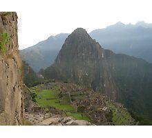 Inca Lands Photographic Print