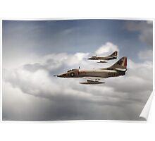 A4 Skyhawks Poster