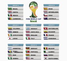 World Cup 2014 Group Stage by voGue