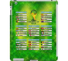 World Cup 2014 Group Stage iPad Case/Skin