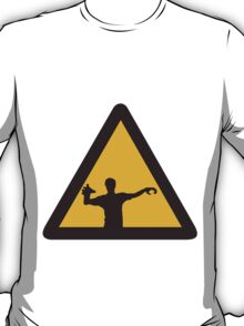 Warning - Zombies T-Shirt