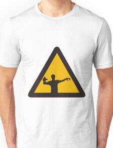 Warning - Zombies Unisex T-Shirt