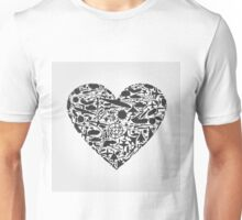 Heart the weapon Unisex T-Shirt
