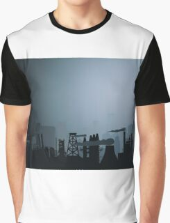 Industrial city Graphic T-Shirt