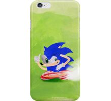 Blue Hedgehog iPhone Case/Skin