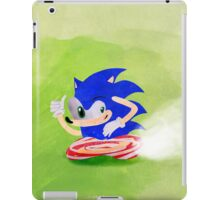 Blue Hedgehog iPad Case/Skin